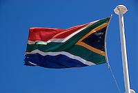 4415 / Suedafrika: AFRIKA, SUEDAFRIKA, 09.01.2007:Flagge, Fahne, Suedafrika