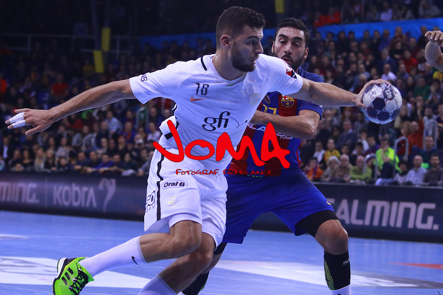 03.12.2016 Barcelona. EHF Champions League Group Phase. Picture show Nedim Remili in action during game between FC Barcelona Lassa against Paris Saint-Germain at Palau Blaugrana