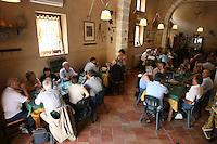 Portella della Ginestra, Settembre 2005. l'Agriturismo della cooperativa Placido Rizzotto a Portella della Ginestra