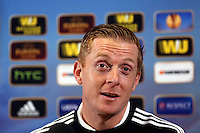 Pictured: Head Coach Garry Monk. Wednesday 19 February 2014<br />