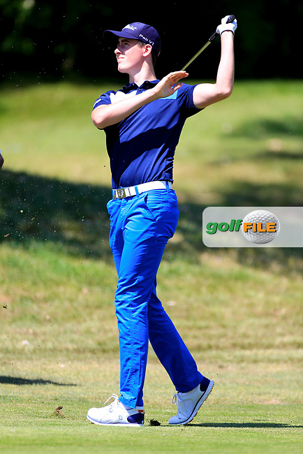 Gary Hurley (IRL) during the first round of the Lyoness Open powered by Organic+ played at Diamond Country Club, Atzenbrugg, Austria. 8-11 June 2017.<br /> 08/06/2017.<br /> Picture: Golffile | Phil Inglis<br /> <br /> <br /> All photo usage must carry mandatory copyright credit (&copy; Golffile | Phil Inglis)