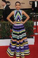 www.acepixs.com<br /> <br /> January 29 2017, LA<br /> <br /> Yara Shahidi arriving at the 23rd Annual Screen Actors Guild Awards at The Shrine Expo Hall on January 29, 2017 in Los Angeles, California<br /> <br /> By Line: Peter West/ACE Pictures<br /> <br /> <br /> ACE Pictures Inc<br /> Tel: 6467670430<br /> Email: info@acepixs.com<br /> www.acepixs.com