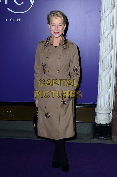 LONDON, ENGLAND - FEBRUARY 15: Dame Helen Mirren attends EE British Academy Film Awards (BAFTAs) nominees party at Asprey London, 167 New Bond Street, on February 15, 2014, in London, England.  <br /> CAP/JOR<br /> &copy;Nils Jorgensen/Capital Pictures