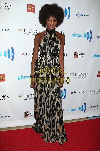 12 April 2014 - Beverly Hills, California - Naomi Campbell. 25th Annual GLAAD Media Awards held at The Beverly Hilton Hotel.