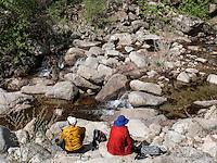 Bach im Nationalpark Seoraksan bei Sokcho, Provinz Gangwon, Südkorea, Asien, UNESCO-Biosphärenreservat<br /> creek in Seoraksan National Park  near Sokcho, province Gangwon, South Korea, Asia, UNESCO Biosphere reserve