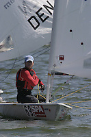 20th SPA Regatta - Medemblik.26-30 May 2004..Copyright free image for editorial use. Please credit Peter Bentley..Jung Gon Kim - KOR