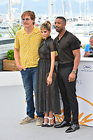 Michael Shannon, Sofia Boutella &amp; Michael B. Jordan  at the photocall for &quot;Farenheit 451&quot; at the 71st Festival de Cannes, Cannes, France 12 May 2018<br /> Picture: Paul Smith/Featureflash/SilverHub 0208 004 5359 sales@silverhubmedia.com