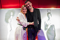 """Miguel Reveriego and his sister Carmen during the opening """"Mi España"""""""