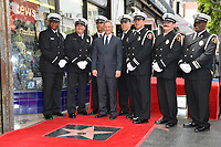 Gary Sinise &amp; Armed Guard at the Hollywood Walk of Fame star ceremony honoring actor Gary Sinise. Los Angeles, USA 17 April  2017<br /> Picture: Paul Smith/Featureflash/SilverHub 0208 004 5359 sales@silverhubmedia.com