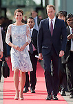 """CATHERINE, DUCHESS OF CAMBRIDGE AND PRINCE WILLIAM.depart Kuala Lumpur for their trip to Danum Valley,Sabah, Malaysia_14/09/2012.Mandatory credit photo: ©IJ Pool/DIASIMAGES..""""""""NO UK USE FOR 28 DAYS UNTIL 12TH OCTOBER 2012""""..(Failure to credit will incur a surcharge of 100% of reproduction fees)..                **ALL FEES PAYABLE TO: """"NEWSPIX INTERNATIONAL""""**..IMMEDIATE CONFIRMATION OF USAGE REQUIRED:.DiasImages, 31a Chinnery Hill, Bishop's Stortford, ENGLAND CM23 3PS.Tel:+441279 324672  ; Fax: +441279656877.Mobile:  07775681153.e-mail: info@newspixinternational.co.uk"""