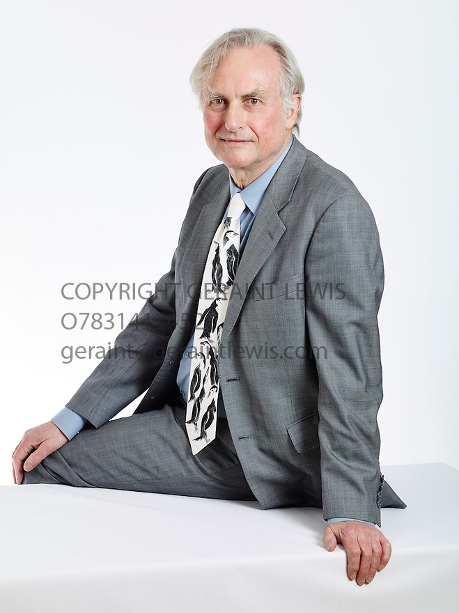 Richard Dawkins scienist,  English ethologist ,evolutionary biologist and author. Writer of The Magic of Reality. CREDIT Geraint Lewis