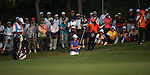 TAOYUAN, TAIWAN - OCTOBER 26:  Yani Tseng of Taiwan plays her second shot on the 17th hole during the day two of the Sunrise LPGA Taiwan Championship at the Sunrise Golf Course on October 26, 2012 in Taoyuan, Taiwan. Photo by Victor Fraile / The Power of Sport Images