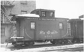Short caboose #0501.<br /> D&amp;RGW