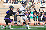 San Diego, CA 05/25/13 - Jack Pope (Westview #22) and Henry Gardener (Carlsbad #7) in action during the 2013 Boys Lacrosse San Diego CIF DIvision 1 Championship game.  Westview defeated Carlsbad 8-3.