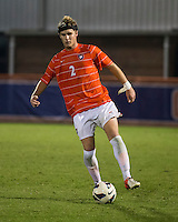 The number 24 ranked Furman Paladins took on the number 20 ranked Clemson Tigers in an inter-conference game at Clemson's Riggs Field.  Furman defeated Clemson 2-1.  Kyle Fisher (2)
