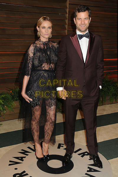 02 March 2014 - West Hollywood, California - Diane Kruger, Joshua Jackson. 2014 Vanity Fair Oscar Party following the 86th Academy Awards held at Sunset Plaza. <br /> CAP/ADM/BP<br /> &copy;Byron Purvis/AdMedia/Capital Pictures