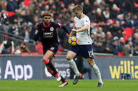 Philip Billing of Huddersfield Town and Eric Dier of Tottenham Hotspur during Tottenham Hotspur vs Huddersfield Town, Premier League Football at Wembley Stadium on 3rd March 2018