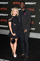 "Gabby Allen and Marcel Somerville<br /> arriving for the ""Bright"" European premiere at the BFI South Bank, London<br /> <br /> <br /> ©Ash Knotek  D3364  15/12/2017"