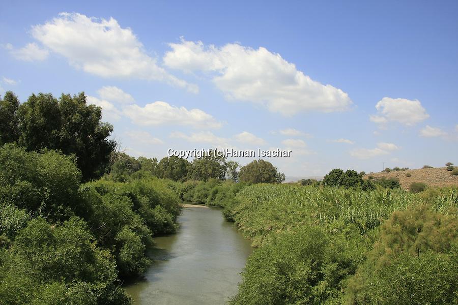 Israel, Lower Galilee, the Jordan River