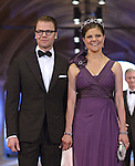 "CROWN PRINCESS VICTORIA AND PRINCE DANIEL OF SWEDEN WITH PRINCE NARUHITO.attend the gala farewell dinner for Queen Beatrix.at the Rijksmuseum in Amsterdam, The Netherlands_April 29, 2013..Crown Prince Willem-Alexander and Crown Princess Maxima will be proclaimed King and Queen  of The Netherlands on the abdication of Queen Beatrix on 30th April 2013..Mandatory Credit Photos: ©Utrecht/NEWSPIX INTERNATIONAL..**ALL FEES PAYABLE TO: ""NEWSPIX INTERNATIONAL""**..PHOTO CREDIT MANDATORY!!: NEWSPIX INTERNATIONAL(Failure to credit will incur a surcharge of 100% of reproduction fees)..IMMEDIATE CONFIRMATION OF USAGE REQUIRED:.Newspix International, 31 Chinnery Hill, Bishop's Stortford, ENGLAND CM23 3PS.Tel:+441279 324672  ; Fax: +441279656877.Mobile:  0777568 1153.e-mail: info@newspixinternational.co.uk"