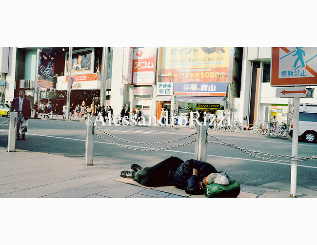 Homeless, Shinjuku district