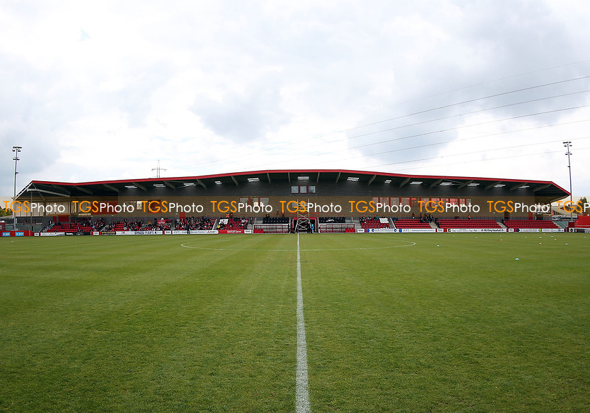 The new main stand at Stonebridge Road before Ebbsfleet United vs Chelmsford City, Vanarama National League South Play-Off Final Football at The PHB Stadium on 13th May 2017