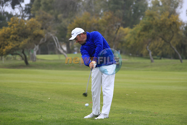 Damien McGrane in action during the Pro-Am Wedensday of the Open de Andalucia de Golf at Parador Golf Club Malaga 23rd March 2011. (Photo Eoin Clarke/Golffile 2011)