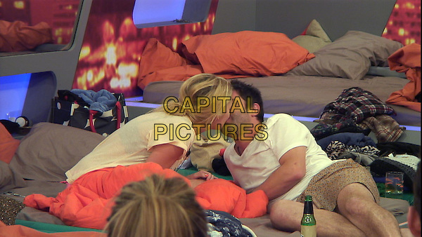 George Gilbey, Stephanie Pratt<br /> in Celebrity Big Brother - Summer 2014 (Day 11)<br /> *Editorial Use Only*<br /> CAP/NFS<br /> Image supplied by Capital Pictures
