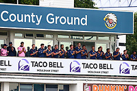 The Essex players with a minute of applause for the late Doug Insole during Essex Eagles vs Middlesex, NatWest T20 Blast Cricket at The Cloudfm County Ground on 11th August 2017