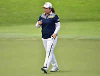 SINGAPORE - FEBRUARY 01: Inbee Park of South Korea on the 18th green during the second round of the HSBC Women's World Championship 2019 at Sentosa Golf Club - Tanjong Course, Singapore on March 01, 2019.<br /> .<br /> .<br /> .<br /> (Photo by: Naratip Golf Srisupab/SEALs Sports Images)<br /> .<br /> Any image use must include a mandatory credit line adjacent to the content which should read: Naratip Golf Srisupab/SEALs Sports Images