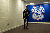 Rhian Brewster of Swansea City arrives for the Sky Bet Championship match between Cardiff City and Swansea City at the Cardiff City Stadium in Swansea, Wales, UK.  Sunday 12 January 2019