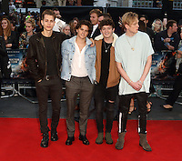 The Vamps at the Deepwater Horizon European Premiere at Cineworld Leicester Square, London on September 26th 2016<br /> CAP/ROS<br /> &copy;Steve Ross/Capital Pictures /MediaPunch ***NORTH AND SOUTH AMERICAS ONLY***