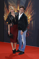 Sabrina Gehrmann and Tobey Wilson attending the &quot;Inferno&quot; premiere held at CineStar, Sony Center, Potsdamer Platz, Berlin, Germany, 10.10.2016. <br /> Photo by Christopher Tamcke/insight media /MediaPunch ***FOR USA ONLY***