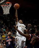 Richard Solomon of California shoots the ball during the game against Pepperdine at Haas Pavilion in Berkeley, California on November 13th, 2012.  California defeated Pepperdine, 79-62.