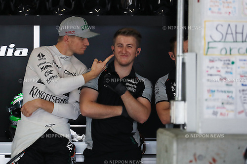 Nico Hulkenberg (GER), <br /> OCTOBER 8, 2016 - F1 : Japanese Formula One Grand Prix <br /> at Suzuka Circuit in Suzuka, Japan. (Photo by Sho Tamura/AFLO SPORT) GERMANY OUT
