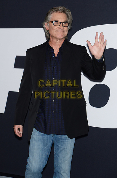 NEW YORK, NY - APR 08: Kurt Russell attends the Premiere of &quot;The Fate of the Furious&quot; at Radio City Music Hall on April 8, 2017 in NEW YORK CITY.<br /> CAP/LNC/TOM<br /> &copy;TOM/LNC/Capital Pictures