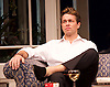 My Night with Reg <br /> by Kevin Elyot <br /> at the Apollo Theatre, London, Great Britain <br /> Press photocall<br /> 20th January 2015 <br /> <br /> Julian Ovenden as John <br /> <br /> <br /> Photograph by Elliott Franks <br /> Image licensed to Elliott Franks Photography Services