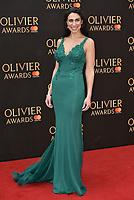 Kim Maresca<br /> The Olivier Awards 2018 , arrivals at The Royal Albert Hall, London, UK -on April 08, 2018.<br /> CAP/PL<br /> &copy;Phil Loftus/Capital Pictures
