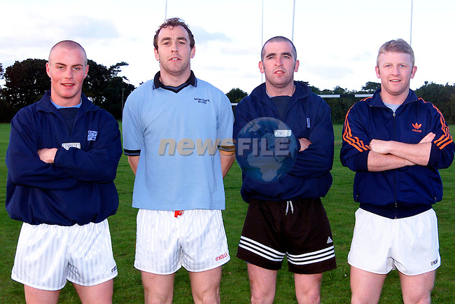 Anthony Donaghy, Breen, Ronan and Martin Phillips..Picture: Paul Mohan/Newsfile