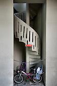 escalier art deco