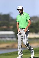 Troy Meritt (USA) on the 7th green during Sunday's Final Round of the 2018 AT&amp;T Pebble Beach Pro-Am, held on Pebble Beach Golf Course, Monterey,  California, USA. 11th February 2018.<br /> Picture: Eoin Clarke | Golffile<br /> <br /> <br /> All photos usage must carry mandatory copyright credit (&copy; Golffile | Eoin Clarke)