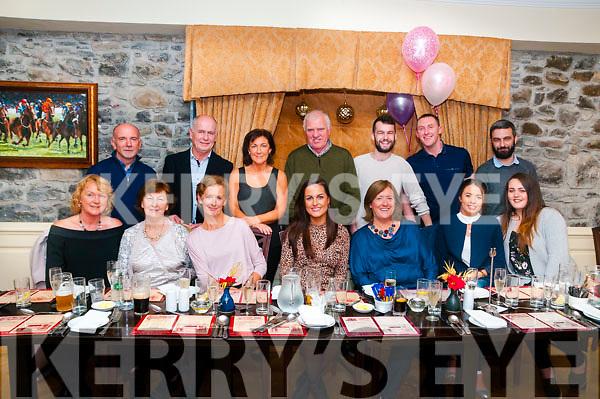 21st Birthday: Joanne McDermott, Tarbert, centre front row, celebrating her 21st birthday with family & friends at Behan's Horseshoe Bar & Restaurant, Listowel on Saturday night last.