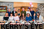 21st Birthday: Joanne McDermott, Tarbert, centre front row, celebrating her 21st birthday with family & friends at Behan's Horseshoe Bar & Restaurant, Listowel on Saturday night last.