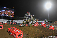 Dean Wilson (UK)<br /> 2018 SX Open - Auckland / SX 1<br /> FIM Oceania Supercross Championships<br /> Mt Smart Stadium / Auckland NZ<br /> Saturday Nov 24th 2018<br /> © Sport the library/ Jeff Crow / AME