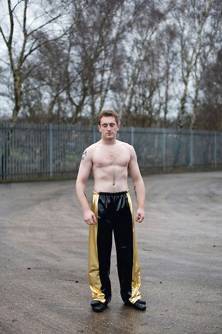 30 year old Paul is a removals man and amateur wrestler in Stoke-on-Trent. The dramatic demise of a once world-renowned industries has left a scarred landscape and relatively high levels of unemployment throughout Staffordshire. The consequence to the cultural identity of the town has been dramatic, giving rise to a whole new set of subcultures.