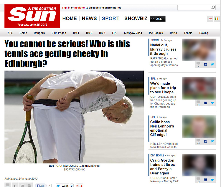 John McEnroe.<br />