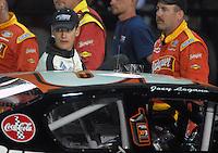 Apr 19, 2007; Avondale, AZ, USA; Nascar Grand National Division driver (10) Joey Logano during the AlphaTrade.com 150 at Phoenix International Raceway. Mandatory Credit: Mark J. Rebilas
