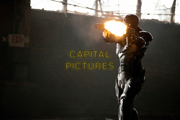 Joel Kinnaman  <br /> in RoboCop (2014) <br /> *Filmstill - Editorial Use Only*<br /> CAP/FB<br /> Image supplied by Capital Pictures