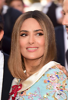 www.acepixs.com<br /> <br /> May 23 2017, Cannes<br /> <br /> Salma Hayek arriving at the 70th Anniversary of the annual Cannes Film Festival at Palais des Festivals on May 23, 2017 in Cannes, France.<br /> <br /> By Line: Famous/ACE Pictures<br /> <br /> <br /> ACE Pictures Inc<br /> Tel: 6467670430<br /> Email: info@acepixs.com<br /> www.acepixs.com