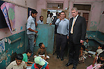 "PRINCE ANDREW.The Duke of York visits the community center in the Dharavi slum in Mumbai, India_May 2, 2012..The Duke of York, who is representing Queen Elizabeth II in the year of her Diamond Jubilee is on a week long tour of India..Mandatory Credit Photo: ©Solaris-NEWSPIX INTERNATIONAL..(Failure to credit will incur a surcharge of 100% of reproduction fees)..                **ALL FEES PAYABLE TO: ""NEWSPIX INTERNATIONAL""**..IMMEDIATE CONFIRMATION OF USAGE REQUIRED:.Newspix International, 31 Chinnery Hill, Bishop's Stortford, ENGLAND CM23 3PS.Tel:+441279 324672  ; Fax: +441279656877.Mobile:  07775681153.e-mail: info@newspixinternational.co.uk"